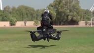 뛰는 범인 위에 나는 경찰<br>공중 오토바이 도입됐다!